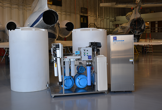 Turbo Pure Water Customized Airframe Wash & Turbine Rinse System
