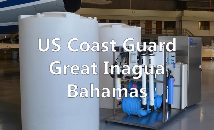 U.S. Coast Guard in Great Inagua Bahamas